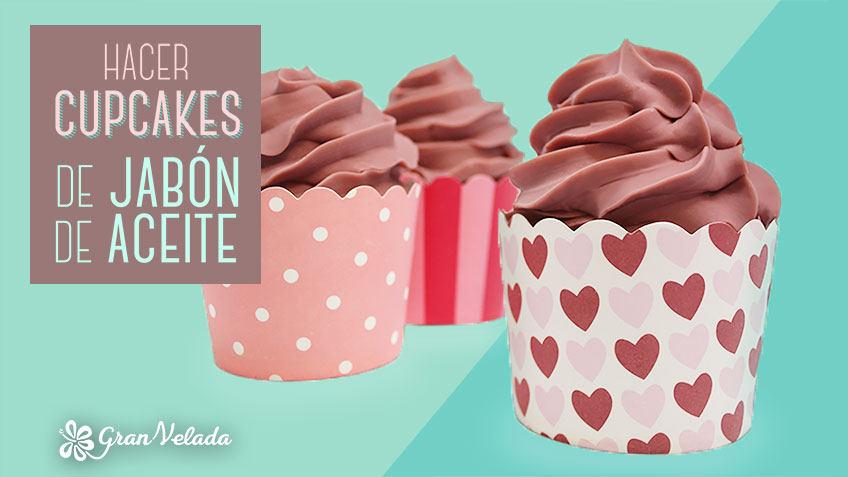Receta paso a paso para jabon con forma de cupcake casero - Formula para hacer jabon casero ...