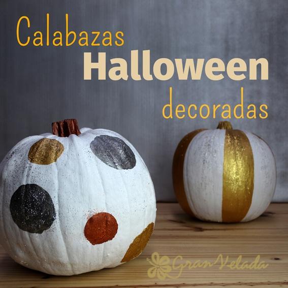 C mo decorar calabazas de halloween - Como decorar halloween ...