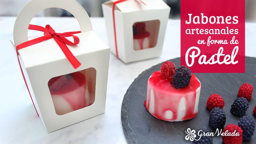 Jabones artesanales para bodas en forma de pastel for Trabajos artesanales para hacer en casa